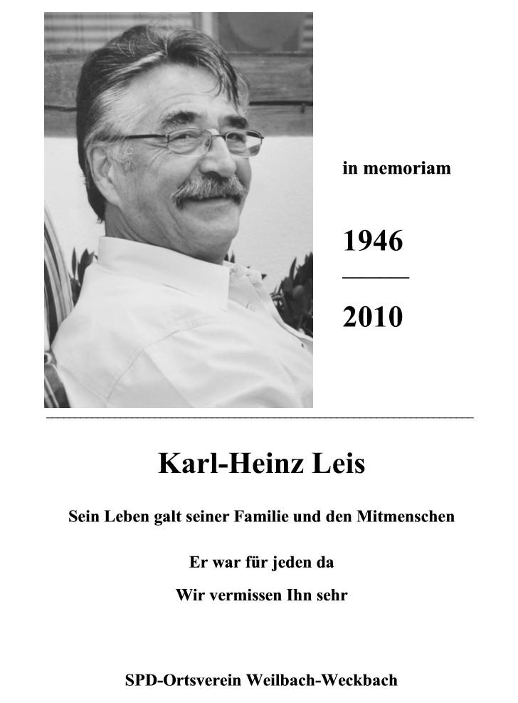 Karl-Heinz Leis